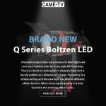 CAME-TV - New Boltzen Q Series LED Video Lights