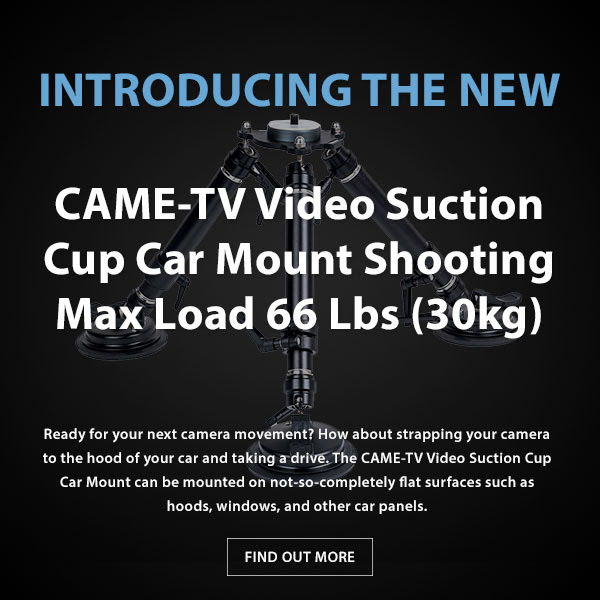 CAME-TV Suction Cup