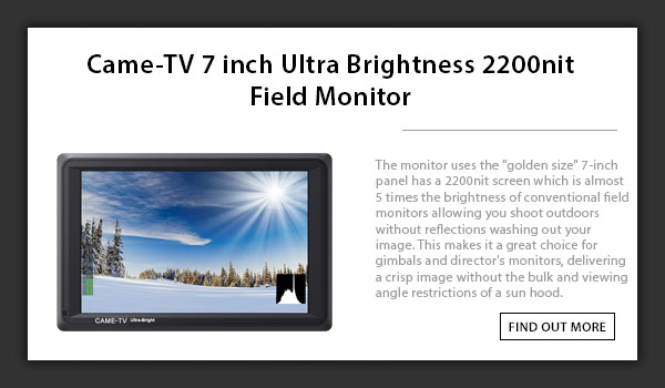 CAME-TV Ultra Brightness Monitor