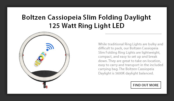 CTV Cassiopeia Daylight Ringlight
