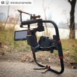 INSTAGRAM: Awesome #Cametv #Optimus #Gimbal setup that @shirokumamedia used on a recent shoot paired with the #Panasonic #GH4! #Cametvgimbal #camegimbal #optimussnap3 #panasonicgh4 #camegimbalsnap5 #3axisgimbal
