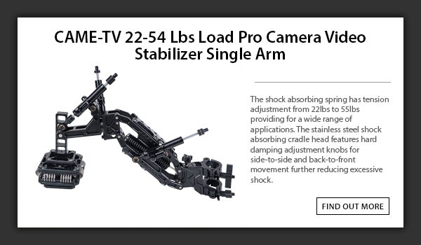 CAME-TV Stabilizer Single Arm