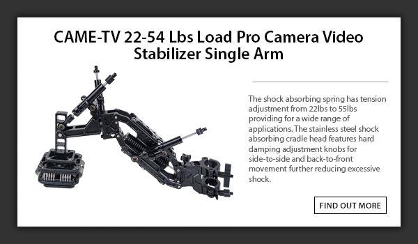 CAME-TV Stabilizer Single Arm