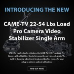 CAME-TV - New Pro Camera Video Stabilizer Single Arm