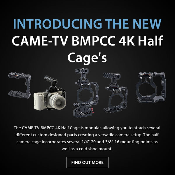 CTV BMPCC 4K Cages