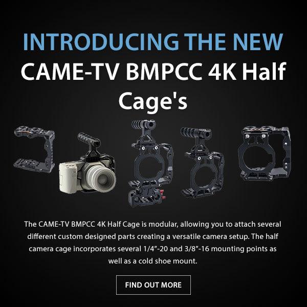 CTV BMPCC 4K Cages
