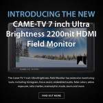 CAME-TV – New 7″ Ultra Bright HDMI Field Monitor