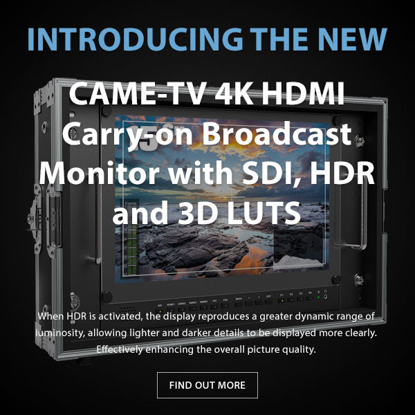 CAME-TV 4K HDMI Broadcast Monitor