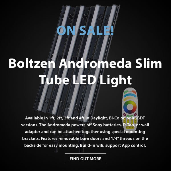 CAME-TV Andromeda Slim Tube Light Sale