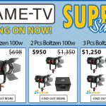 CAME-TV - Boltzen Fresnel LED 100w Bi-Color Super Sale!