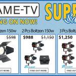 CAME-TV - Boltzen Fresnel LED 150w Daylight Super Sale!