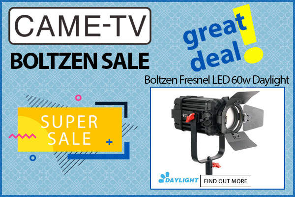 CAME-TV Boltzen 60w Daylight Sale