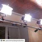 INSTAGRAM: @panoramavideoproduktion's lighting setup with our 3pcs #Cametv #Boltzen 60w #Bicolor #LED #Light! #fresnel #fresnellight #ledlight #boltzensnap1 #cametvboltzen #bicolorlight
