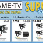 CAME-TV - Boltzen Fresnel LED 60w Bi-Color Super Sale!