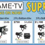 CAME-TV - Boltzen Fresnel LED 60w Bi-Color Super Sale!