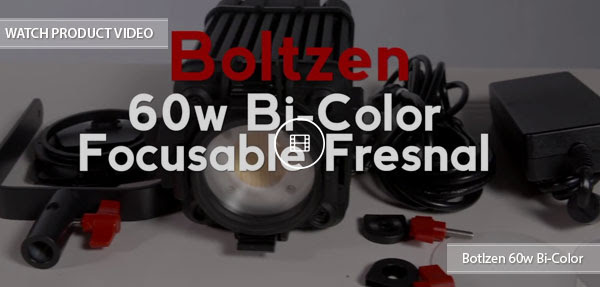 CAME-TV Boltzen 60w product video