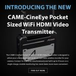 CAME-TV - New Product - CineEye Pocket Sized WiFi HDMI Video Transmitter