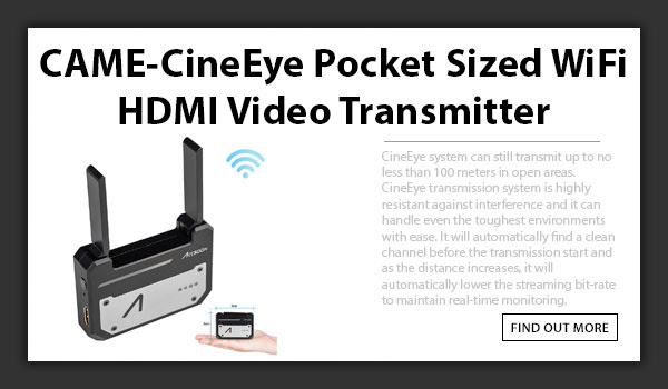 CAME-TV CineEye WiFi Wireless Transmitter