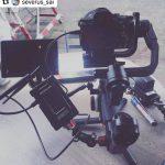 INSTAGRAM: Check out this gimbal setup that @severus_sai used on a shoot with our CAME-TV Crystal-800! Thanks for the support! ・・・ #sonya7iii #crane3 #cametv #commercial #sigma #smalllcd #adv #sony #shooting #followfocus #zhiyuncrane #camerasetups #freeworldmonitor #freeworld #wireless #transmitter #crystal800 #wirelesstransmitter #gimbal