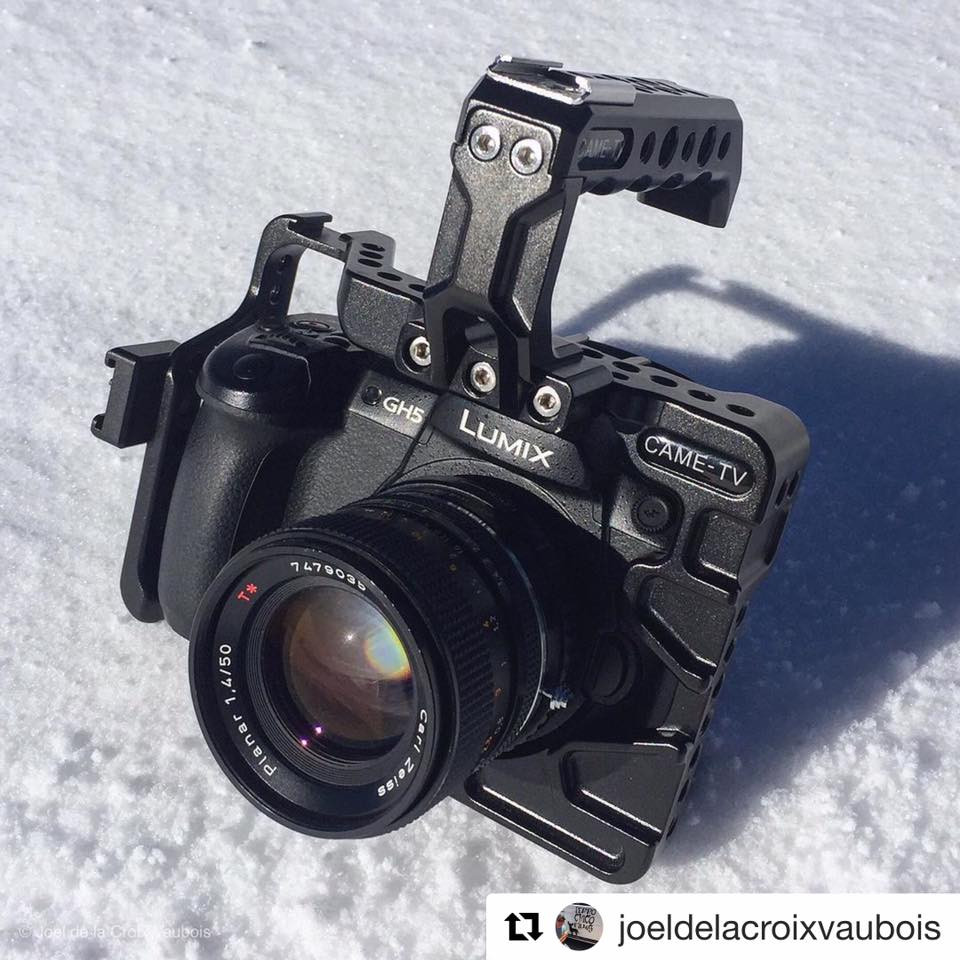 CAME-TV Panasonic GH5 Cage