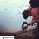 INSTAGRAM:  @dan_lloyd91 getting some awesome camera angles using our #Cametv #Optimus #Gimbal! #bts #cameoptimus #optimussnap3 #3axisgimbal #olympus #camegimbalsnap5