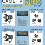 CAME-TV - Boltzen Fresnel LED 100w Super Sale!