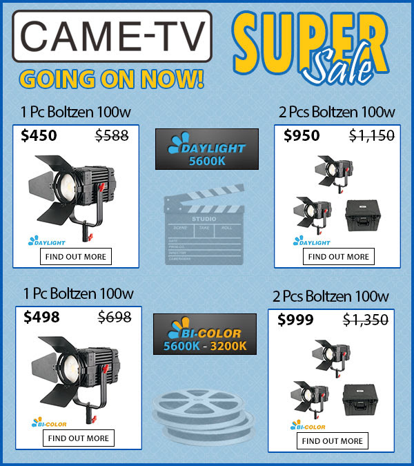 CAME-TV Super Sale Boltzen 100w