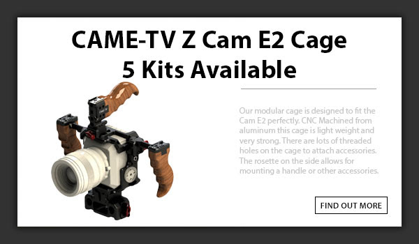 CAME-TV Z-CAM E2 Cage Kit