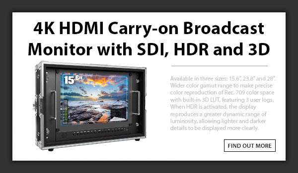 CTV 4K HDMI Broadcast Monitor