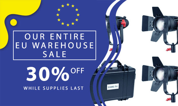 CAME-TV EU Warehouse Sale