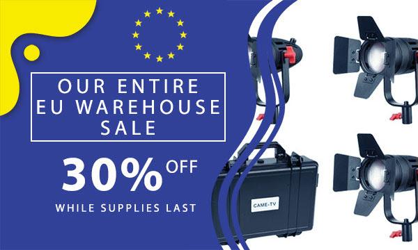 CAME-TV EU Warehouse Sale