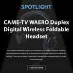 CAME-TV - Spotlight Waero