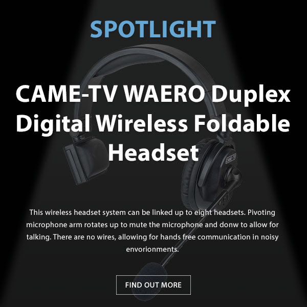 CAME-TV Waero Headset