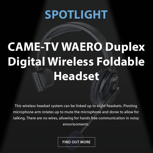 CAME-TV Waero Headset