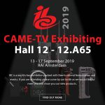 CAME-TV - Exhibiting at IBC