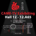 CAME-TV - Exhibiting at IBC