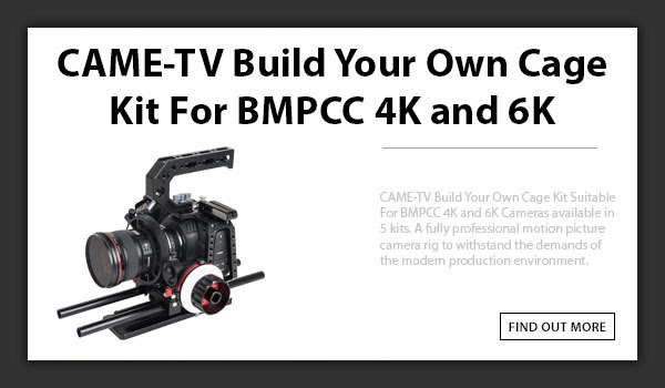 CAME-TV BMPCC Build Cage