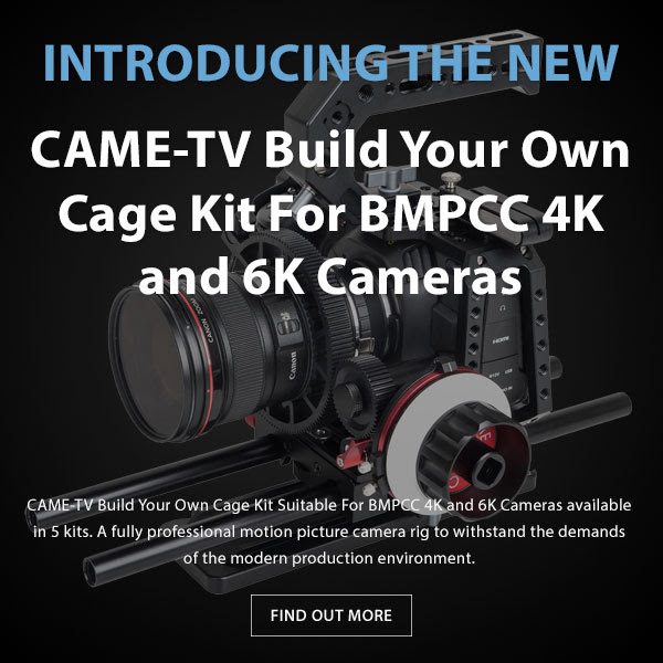 CAME-TV BMPCC Build Your Own Cage
