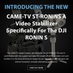 CAME-TV - New Product- CAME-TV ST-RONINS and Cage Sale!