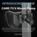 CAME-TV - New Product- CAME-TV V-Mount Clamp