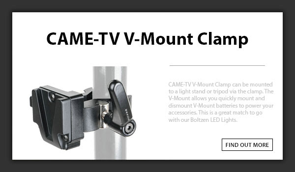 CAME-TV V-Mount Clamp_2