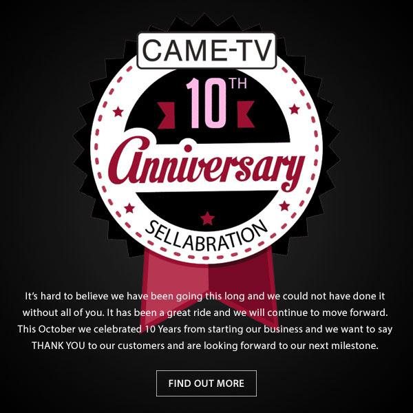 CAME-TV 10th Anniversary Sellabration