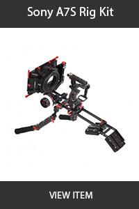 ctv sony a7s rig kit shoulder rig