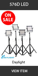 CAME-TV 576D LED Daylight_4 kit