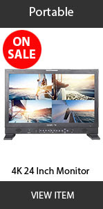 CAME-TV 4k 24inch Monitor