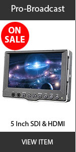 CAME-TV 5inch pro broadcast monitor