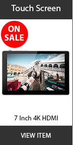 CAME-TV 7inch touch screen monitor
