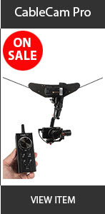 CAME-TV CableCam Sale