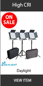 CAME-TV High CRI daylight 3 set Sale