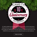 CAME-TV - More Holiday Savings on our 10th Anniversary Sellabration